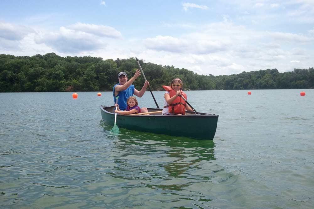Shawnee Family Boating