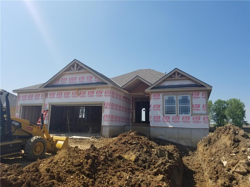 Blue Springs New Construction in Stone Canyon