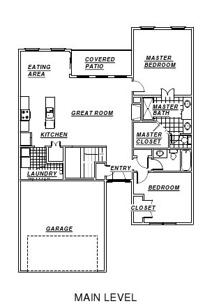 Dave Richards Nina main floor plan