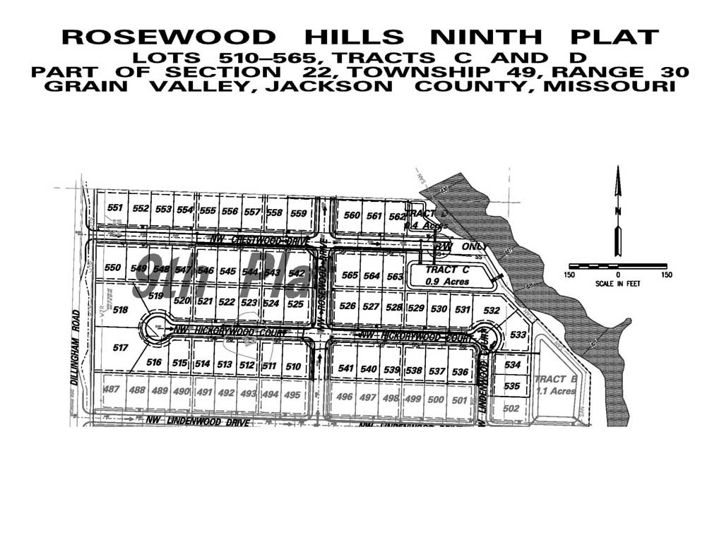 Rosewood Hills Lots For Sale