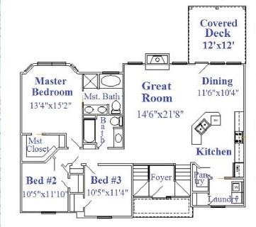Hefeweizen 4 bedroom main floor