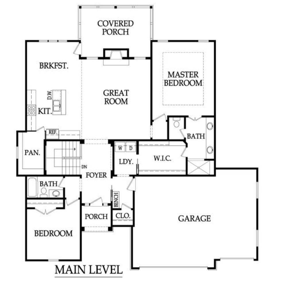 Grayson Main Level Layout