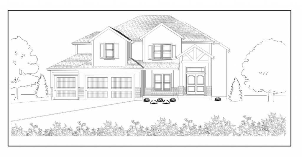 Dave Richards Homebuilding Walker II layout