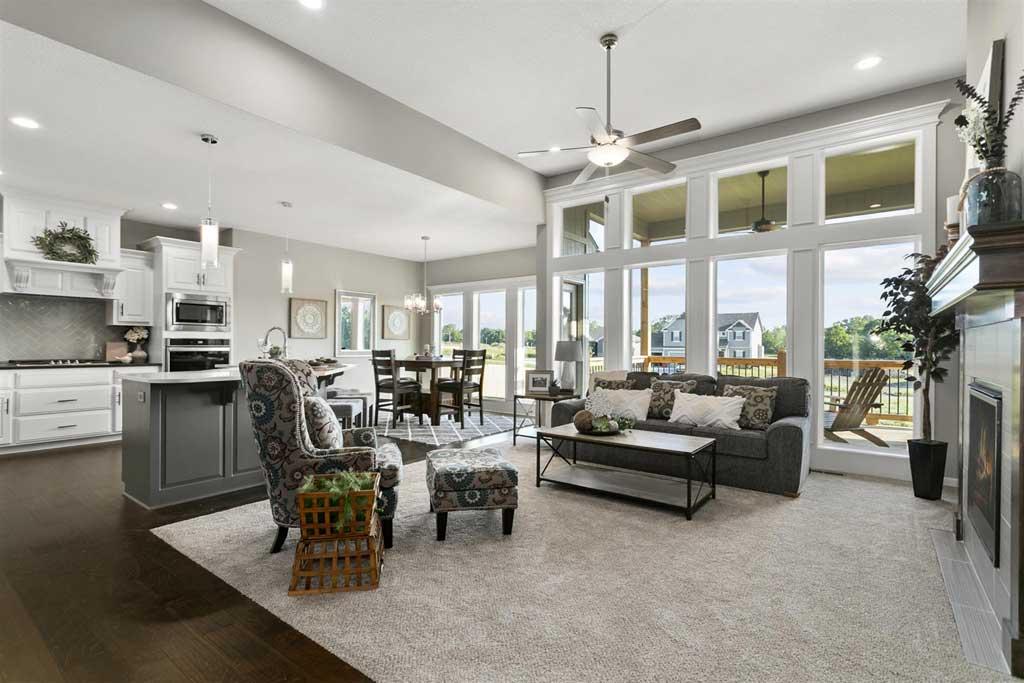 1292 Lindenwood Living Room