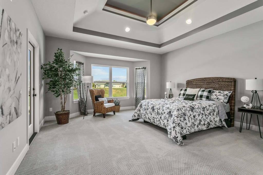 Dreams and Design Building Everest II Master Bedroom
