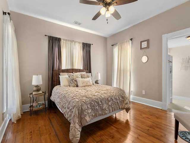 Home staging Master Bedroom After